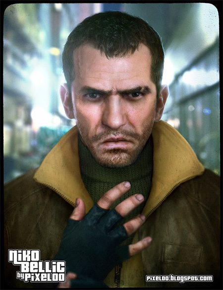 gta 4 niko. GTA IV Niko Bellic by pixeloo