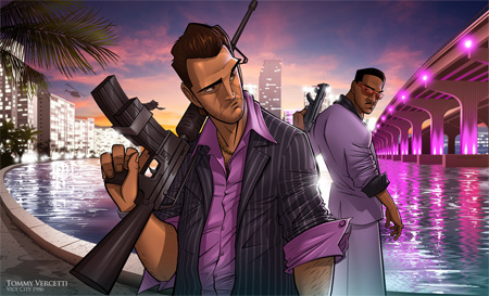 Vice City Vibes by Patrick Brown