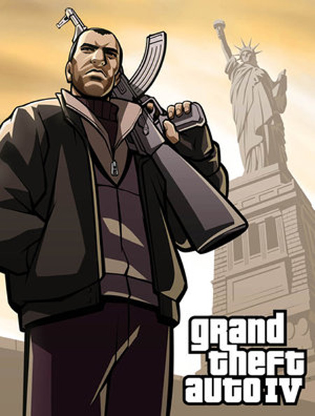 GTA IV illustration by Makotron