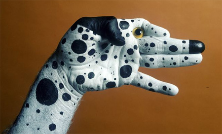 Hand Painting Art by Mario Mariotti