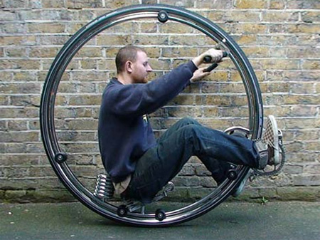 Futuristic Monocycle by Ben Wilson