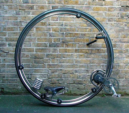 Futuristic Monocycle by Ben Wilson 3