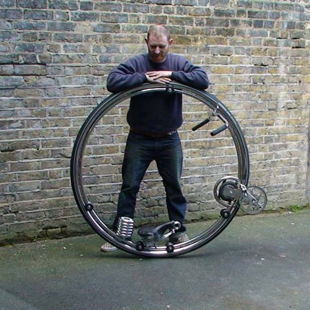 Futuristic Monocycle by Ben Wilson 5