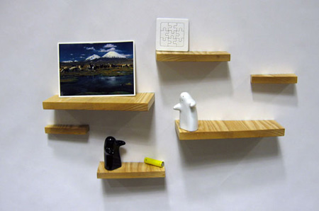 Magnetic Shelves by Henry Julier 5
