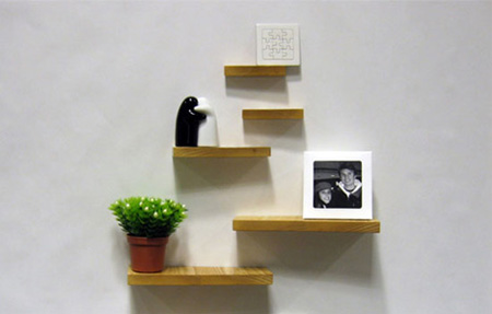Magnetic Shelves by Henry Julier 6