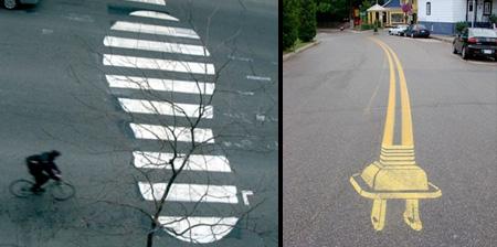 Pedestrian Street Art
