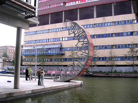 Incredible Rolling Bridge in London 3