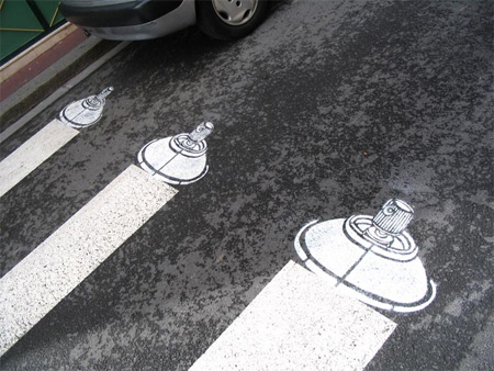 Pedestrian Street Art by Peter Gibson 15