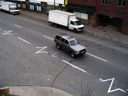 Pedestrian Street Art by Peter Gibson 5
