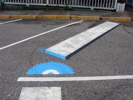 Pedestrian Street Art by Peter Gibson 6