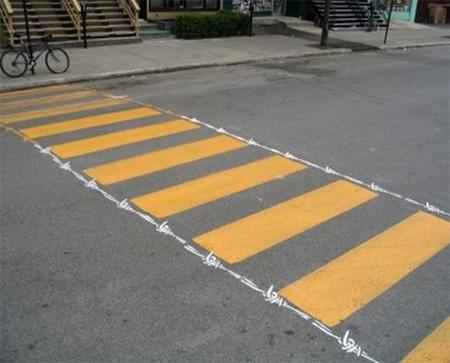 Pedestrian Street Art by Peter Gibson