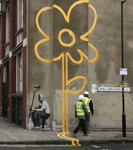 Pedestrian Street Art by Peter Gibson 11