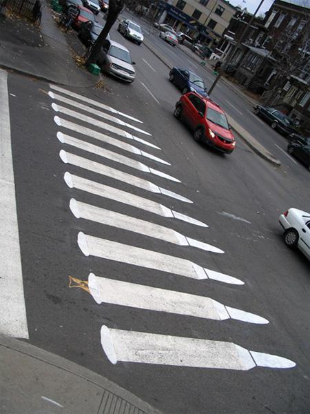 Pedestrian Street Art by Peter Gibson 16