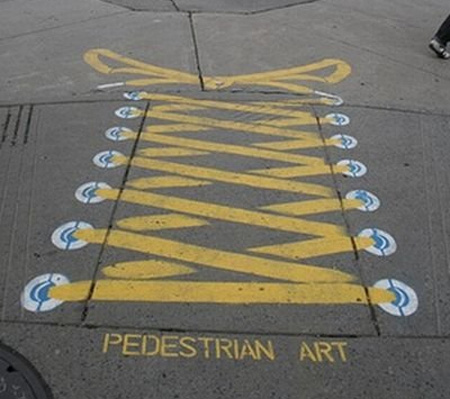 Pedestrian Street Art by Peter Gibson 8
