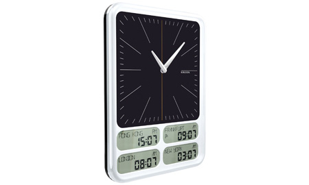 White Matrix Wall Clock