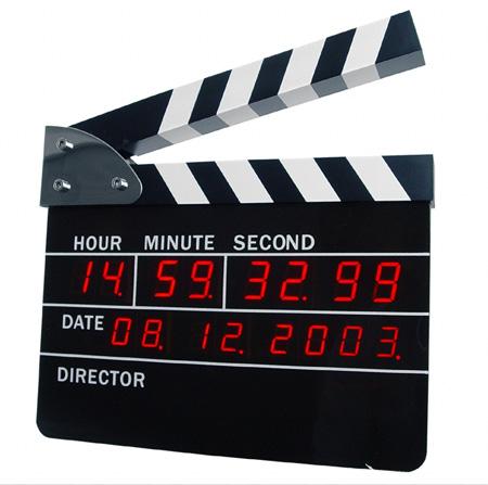 Directors Edition Digital Alarm Clock