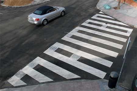 Zebra Crossing by SpY