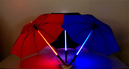 Lightsaber Umbrella 2