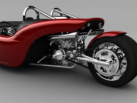 V13R Campagna Motors 3 Wheel Roadster 10
