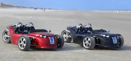 V13R Campagna Motors 3 Wheel Roadster 11
