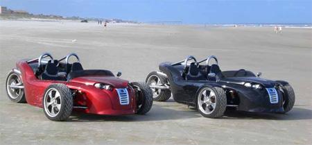V13R Campagna Motors 3 Wheel Roadster 11