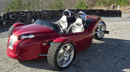 V13R Campagna Motors 3 Wheel Roadster 3