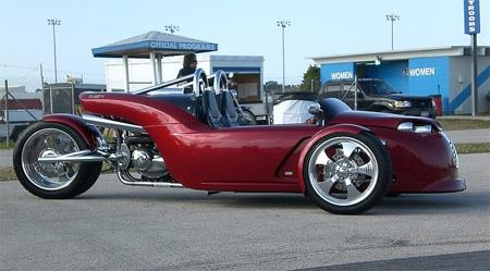 V13R Campagna Motors 3 Wheel Roadster 4