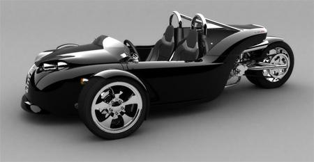 V13R Campagna Motors 3 Wheel Roadster 7