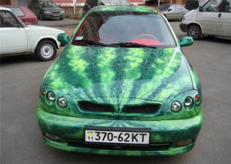 Seedless Watermelon Car from Ukraine