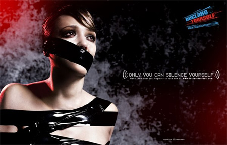 Only You Can Silence Yourself Campaign