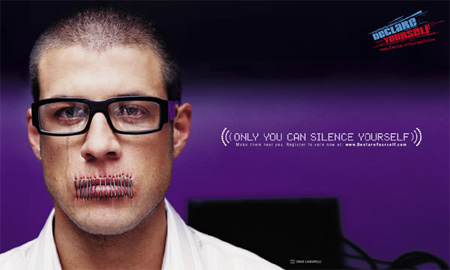Only You Can Silence Yourself Campaign 4