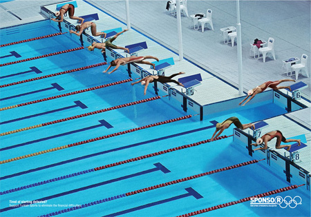 Sponsor Pool Advertisement