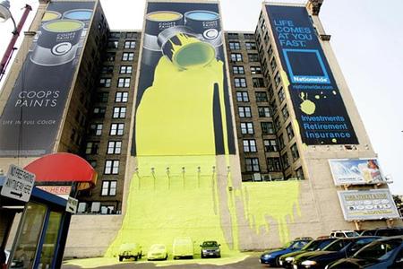 Coops Paint Advertisement