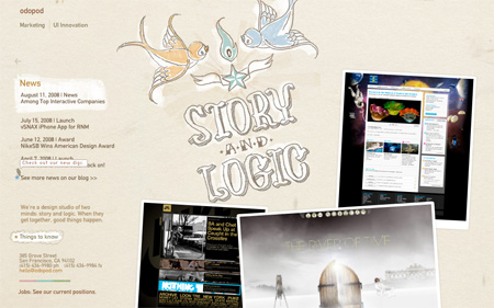 24 Beautiful Flash Website Designs 10