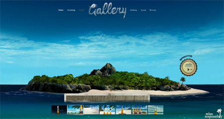 24 Beautiful Flash Website Designs 17
