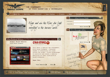 24 Beautiful Flash Website Designs 07
