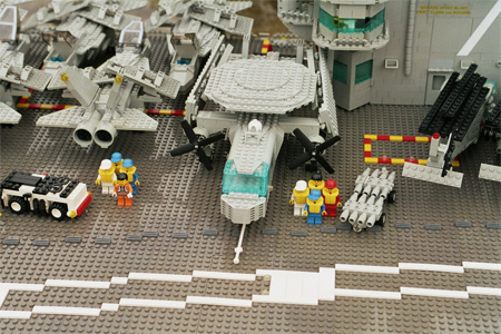 LEGO Aircraft Carrier 4