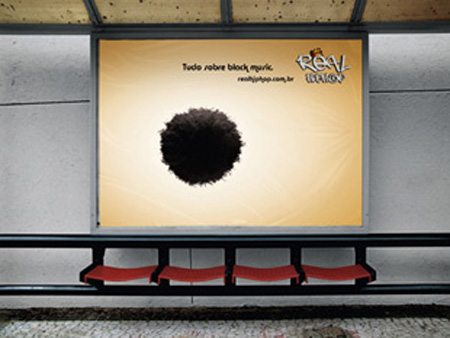 Real Hip Hop Bus Stop Advertisement 2