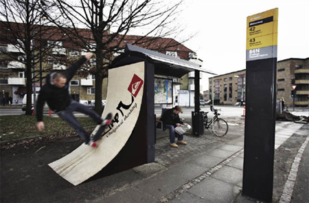 Quiksilver Bus Stop Advertisement 2