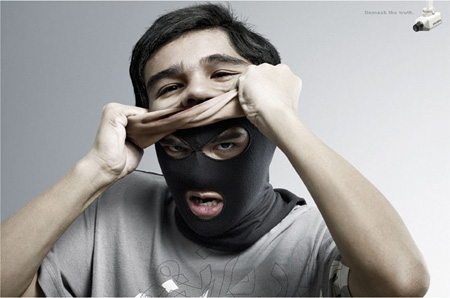 Clever Unmask the Truth Advertisements 2