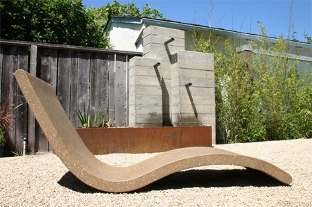 Chaise Lounge by Concreteworks Studio 3