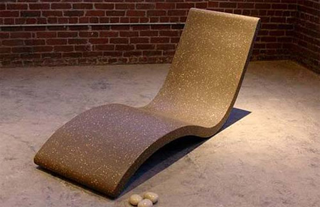 Chaise Lounge by Concreteworks Studio 4
