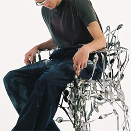 Cutlery Chair by Osian Batyka-Williams 3