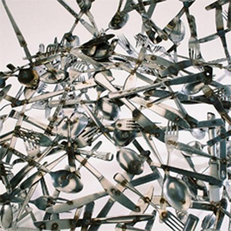 Cutlery Chair by Osian Batyka-Williams 2