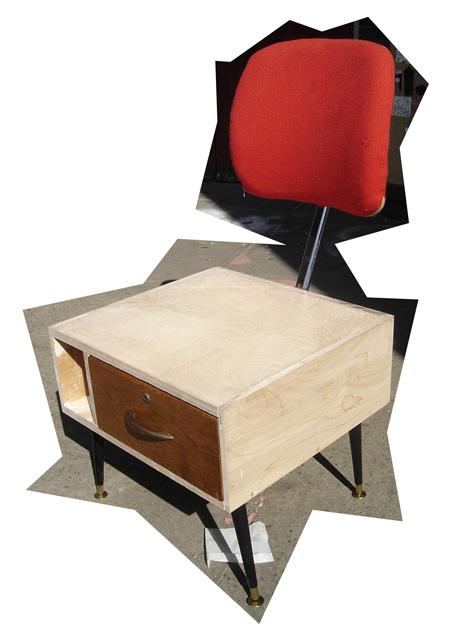 Drawer Chair by Osian Batyka-Williams