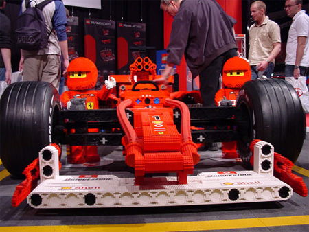 LEGO Ferrari Formula 1 Car 2