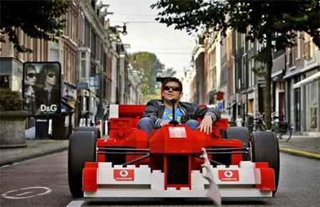 LEGO Ferrari Formula 1 Car 6