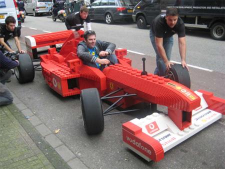 LEGO Ferrari Formula 1 Car 4