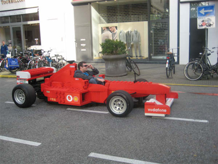 LEGO Ferrari Formula 1 Car 5