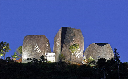 Parque España Library in Colombia 13